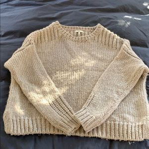 Joie chunky fisherman sweater